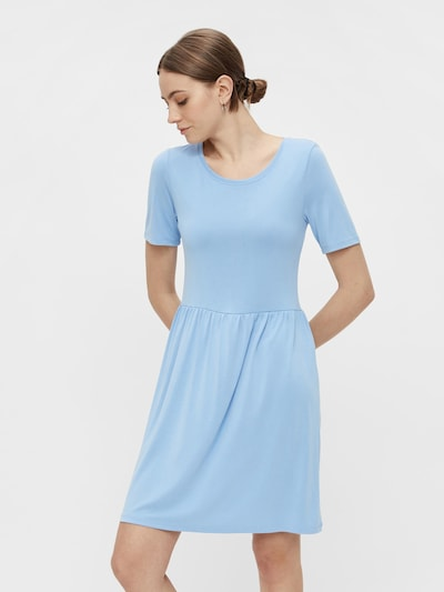 PIECES Kleid 'Kamala' in hellblau, Modelansicht