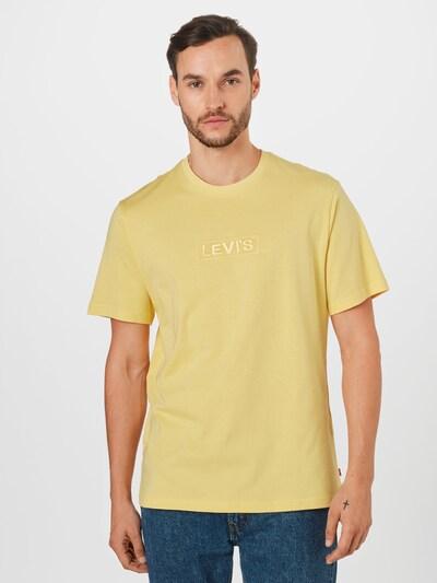 Maglietta LEVI'S di colore limone: Vista frontale