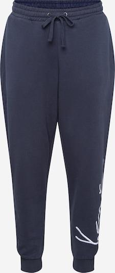 Pantaloni 'Signature' Karl Kani di colore marino / bianco, Visualizzazione prodotti
