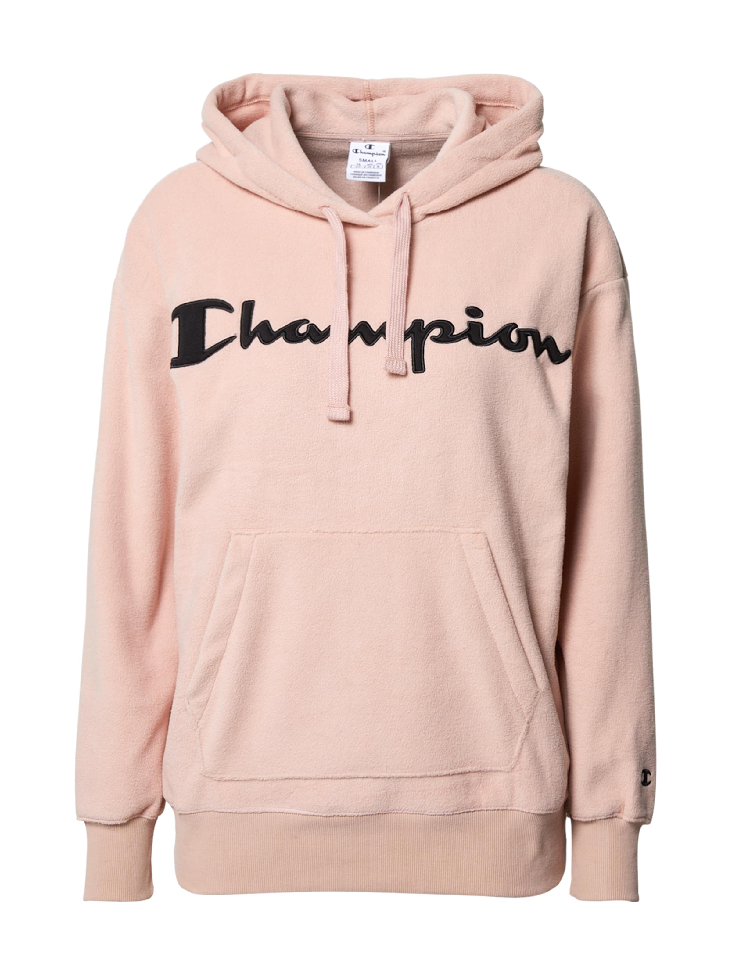 Champion Authentic Athletic Apparel Sweatshirt i puder / svart