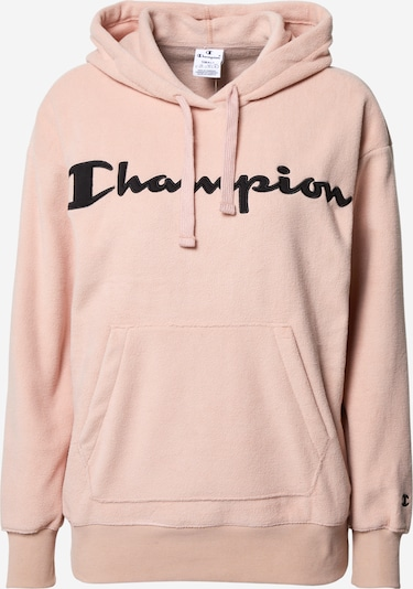 Champion Authentic Athletic Apparel Sweatshirt in puder / schwarz, Produktansicht