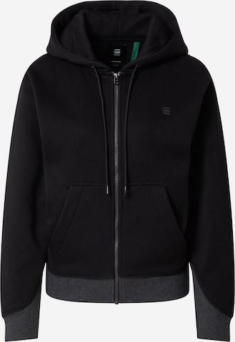 G-Star RAW Tepláková bunda - Čierna