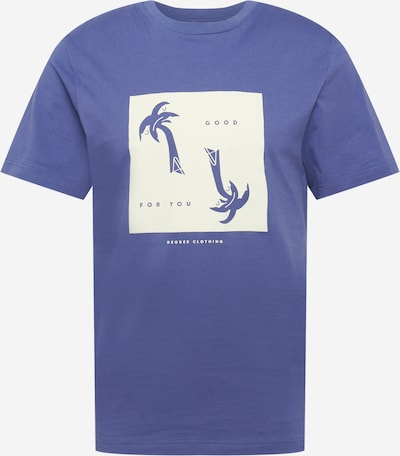Tricou Degree pe bleumarin / alb, Vizualizare produs