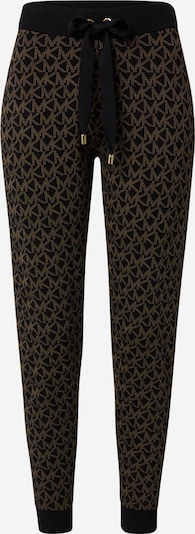MICHAEL Michael Kors Pantalon en marron / noir, Vue avec produit