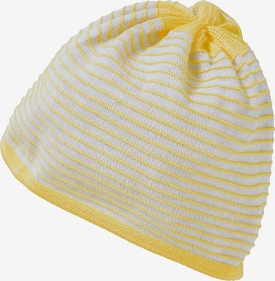 MAXIMO Mütze in gelb / weiß, Produktansicht