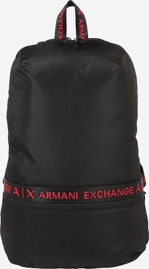 ARMANI EXCHANGE Rugzak in de kleur Rood / Zwart, Productweergave