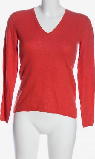 Prego V-Ausschnitt-Pullover in M in rot, Produktansicht