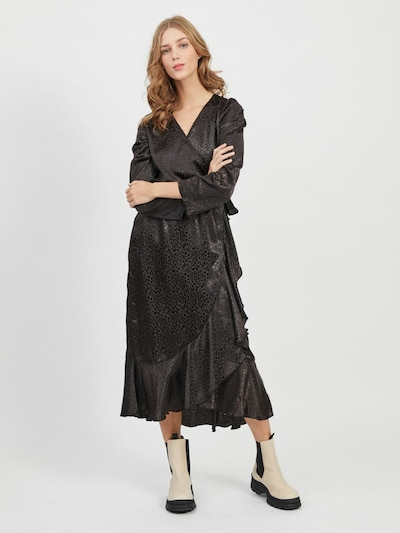 OBJECT Kleid in schwarz, Modelansicht