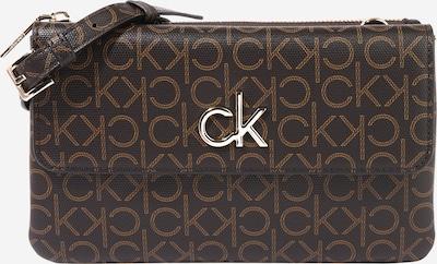 Calvin Klein Pisemska torbica | svetlo rjava / temno rjava barva, Prikaz izdelka
