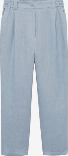 MANGO Broek 'Clau' in de kleur Pastelblauw, Productweergave