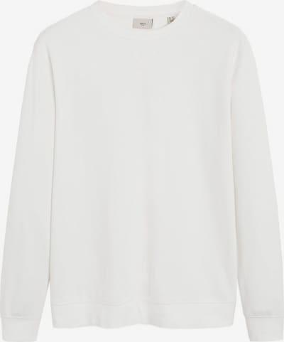 MANGO MAN Sweatshirt `roma´ in weiß, Produktansicht