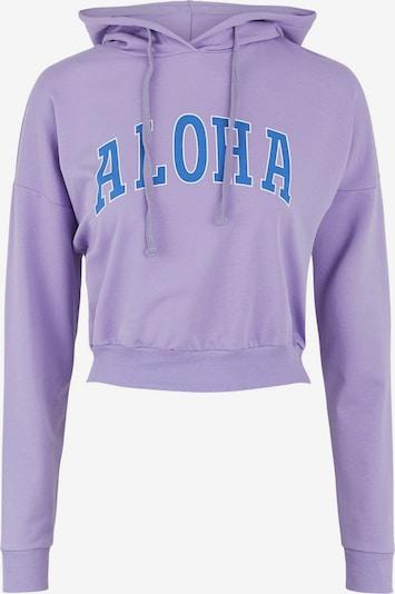 Little Pieces Sweater majica 'ALOHA' u plava / svijetloljubičasta / bijela, Pregled proizvoda