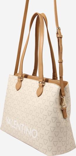 Valentino Bags Чанта за през рамо 'LIuto' в кремаво / кафяво / антрацитно черно / бяло, Преглед на продукта