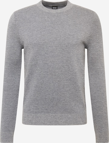 BOSS Sweter 'Nettuno' w kolorze szary