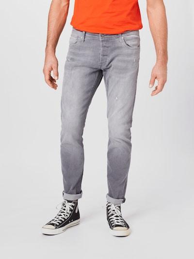 JACK & JONES Jeans 'GLENN' in grey denim, Modelansicht