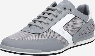 BOSS Sneaker 'Saturn' in grau / weiß, Produktansicht