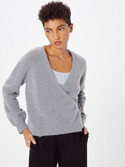 Part Two Knit Cardigan 'Kornelie' in mottled grey, View model