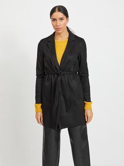 VILA Übergangsmantel 'VIJAKY ' in schwarz, Modelansicht