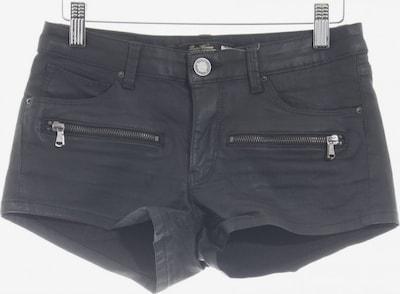 ZARA Shorts in S in schwarz: Frontalansicht