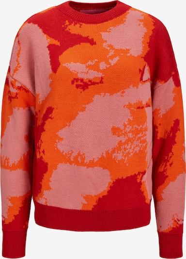 JJXX Pullover 'Gaia' in orange / rot, Produktansicht