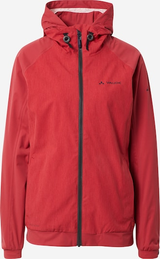 VAUDE Sportjacke 'Cyclist II' in rot, Produktansicht
