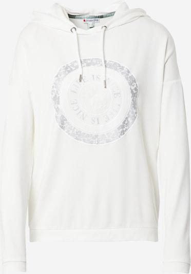 STREET ONE Shirt in silber / weiß, Produktansicht