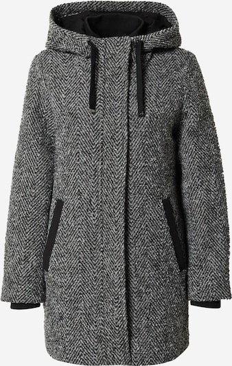 ESPRIT Between-Seasons Coat in Black / White, Item view