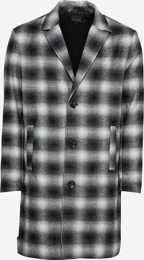Mennace Mantel in schwarz / weiß, Produktansicht