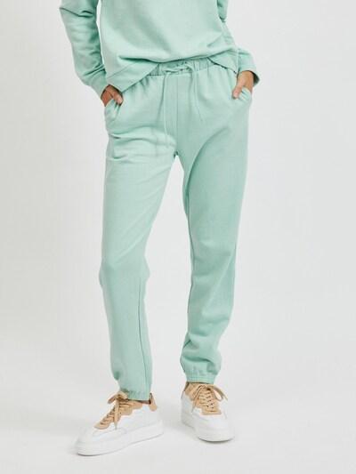VILA Broek 'Rustie' in de kleur Jade groen, Modelweergave