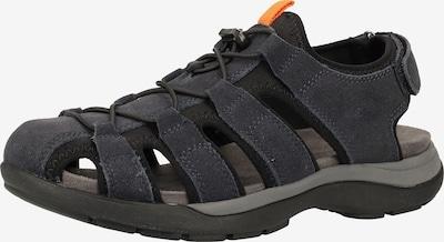 CAMEL ACTIVE Sandale in nachtblau / dunkelblau, Produktansicht