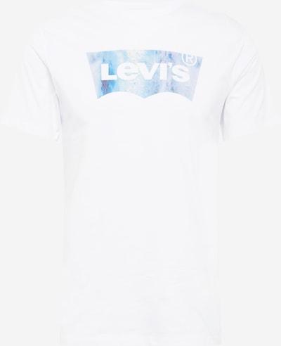 LEVI'S T-Shirt en bleu clair / jaune clair / blanc cassé, Vue avec produit