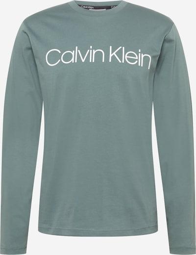 Calvin Klein Tričko - mätová / biela, Produkt