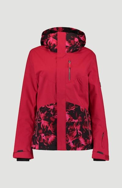 O'NEILL Veste outdoor 'Coral' en rouge / noir, Vue avec produit