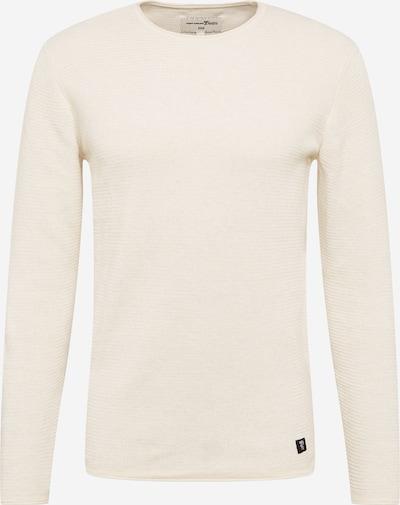 TOM TAILOR DENIM Pullover in creme, Produktansicht