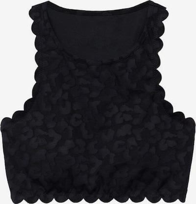 MANGO Top 'loui' in schwarz, Produktansicht