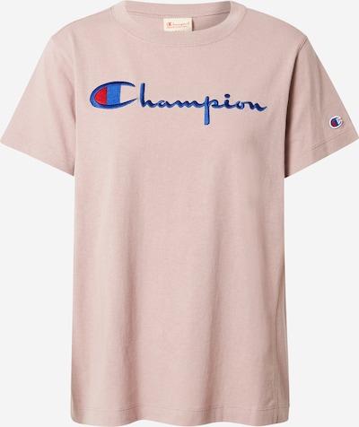Champion Authentic Athletic Apparel T-Shirt in blau / rosa, Produktansicht