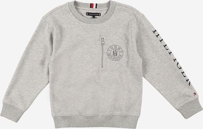 TOMMY HILFIGER Sweatshirt en graumeliert / schwarz, Vue avec produit