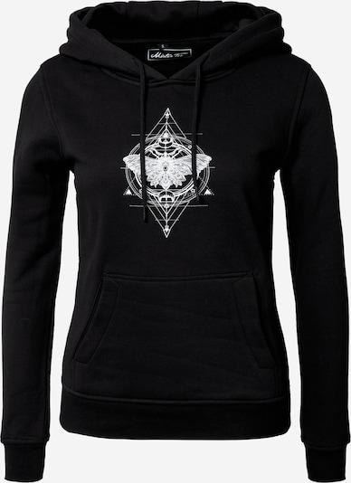 Merchcode Sweatshirt in schwarz / weiß, Produktansicht