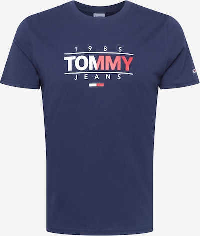 Tommy Jeans Majica u mornarsko plava / crvena / bijela, Pregled proizvoda