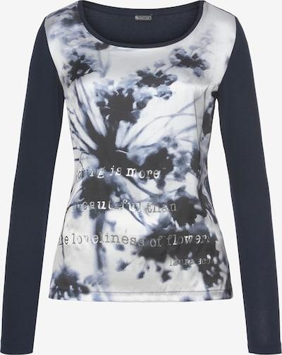 LAURA SCOTT Laura Scott  Blusenshirt in schwarz / weiß, Produktansicht