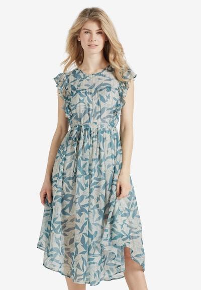 khujo Kleid ' ANISA ' in blau / hellblau / mint, Modelansicht