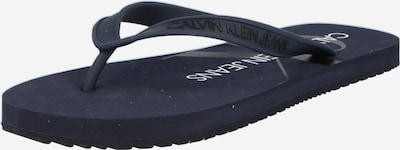 Calvin Klein Jeans Sandales en bleu nuit / noir, Vue avec produit