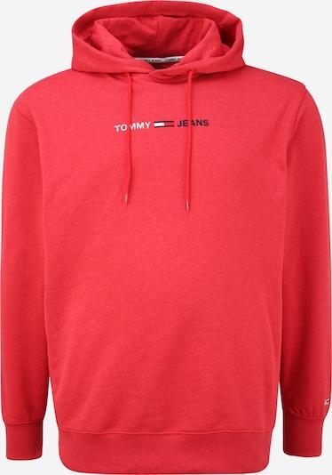 Tommy Jeans Plus Суичър в тъмносиньо / червен меланж / бяло, Преглед на продукта