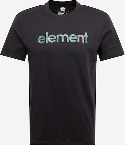 ELEMENT Shirt 'Water Camo Mark' in de kleur Zwart, Productweergave