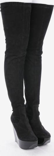 Robert Clergerie Overkneestiefel in 40 in schwarz, Produktansicht