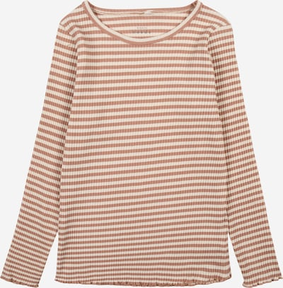NAME IT T-Shirt 'VEMMA' en noisette / blanc, Vue avec produit