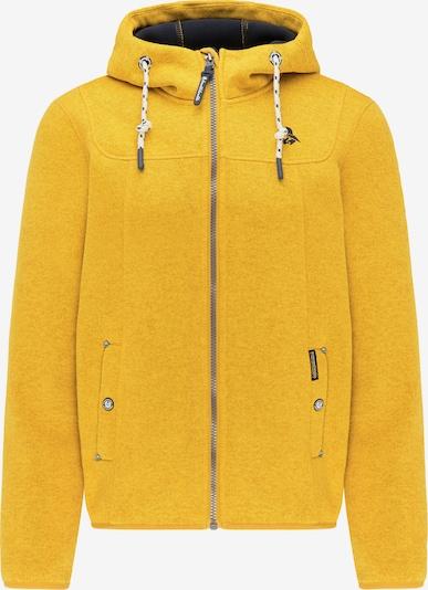Schmuddelwedda Fleece jas in de kleur Curry, Productweergave
