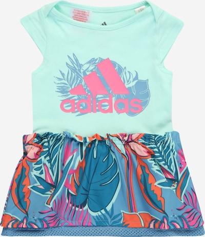 ADIDAS PERFORMANCE Sportovní šaty - tyrkysová / kouřově modrá / petrolejová / tmavě oranžová / pink, Produkt