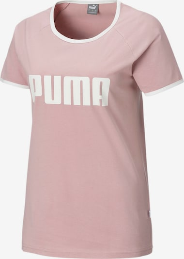 PUMA Functioneel shirt in de kleur Lichtroze / Wit, Productweergave