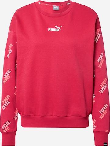 PUMA Sweatshirt in Rot